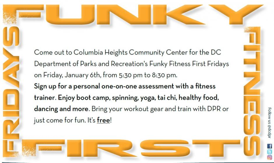 Funky Fitness First Fridays - Jan 2017 - back