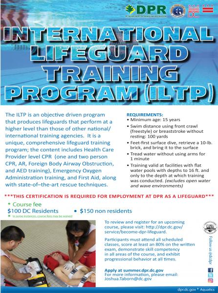 become a dpr lifeguard! | dpr
