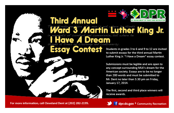 Example Of A Thesis Statement In An Essay The First Second And Third Place Winners Will Receive Awards English Essay Examples also Examples Of An Essay Paper Third Annual Ward  Martin Luther King Jr I Have A Dream Essay  The Newspaper Essay