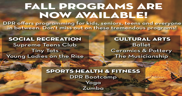 Fall Programs image