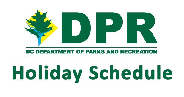 DPR Holiday Schedule