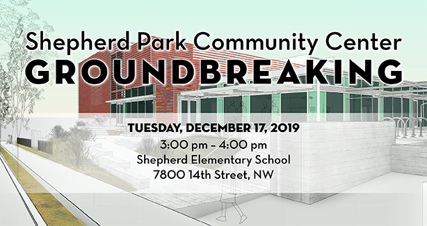 Shepard Park Ground Breaking