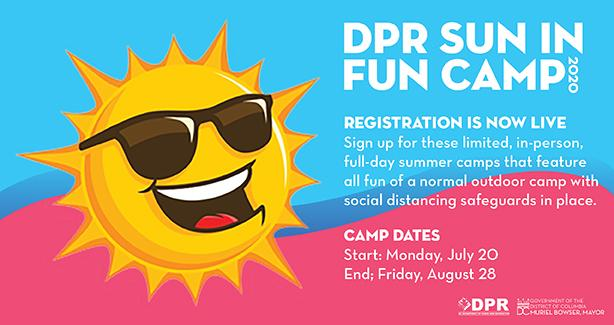 Fun & Sun Camp Registration is Now Live