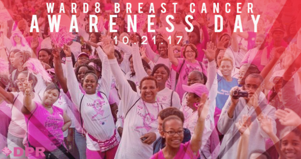 9th Annual Ward 8 Breast Cancer Awarness Day