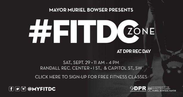 #FITDC Zone at Rec Day