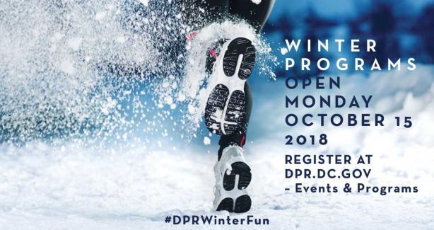 2018 Winter Program Registration