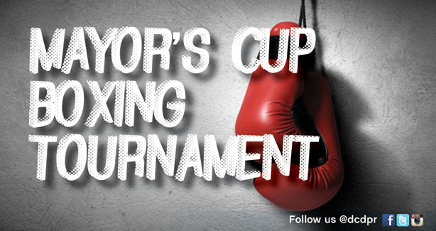 Mayors Cup Boxing Tournament 2016
