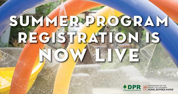 Summer Program Registration Is Now Live