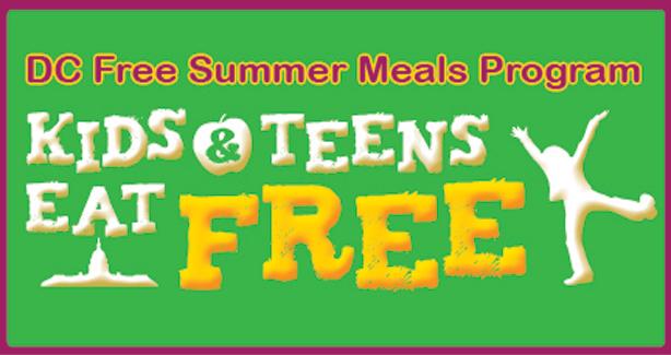 DC Free Summer Meals Program - Kids & Teens Eat Free