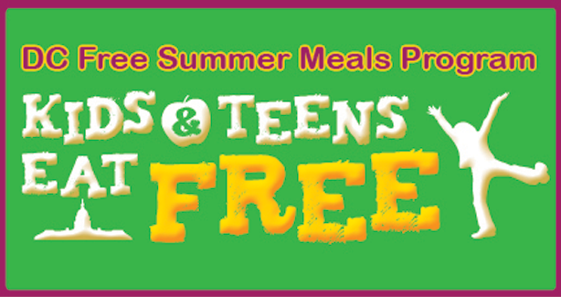 DC Free Summer Meals Program - Kids & Teens Eat Free
