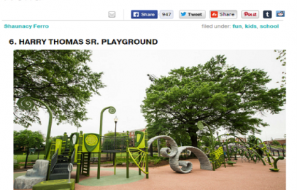 One of the 16 Coolest Playgrounds in the World