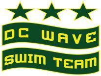 DC Wave Swim Team Logo