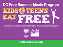 DC Free Summer Meals Program (DC FSMP)